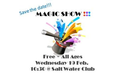 Free ~ All Ages ~ Magic Show